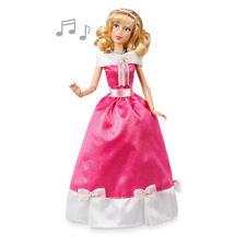 "Disney Store Cinderella Singing Doll 11"" Pink Dress NEW"
