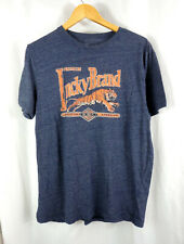 Lucky Brand California Mens Shirt Tiger Logo Tshirt Sz L Large