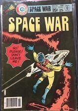 Space War - Vintage UFO Space Comic - Charlton 1979