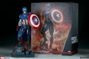 Captain America Marvel Premium Format Limited Edition Figure 1/4 Scale Sideshow