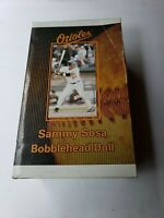 """SAMMY SOSA"" #21 BALTIMORE ORIOLES BOBBLEHEAD DOLL SGA (2005} Real nice to fans!"