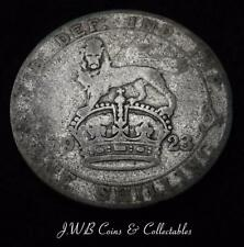 1923 George V Silver Shilling Coin