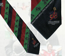 Team Wales - Commonwealth Games Kuala Lumpur 1998 official Welsh team tie