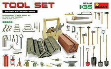 MINIART 35603 1/35 TOOLS TOOL BOXES PLASTIC W/PHOTOETCH PARTS FREE SHIP