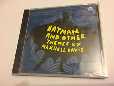 BATMAN AND OTHER THEMES BY MAXWELL DAVIS 1966 OOP Soundtrack Score OST CD SEALED