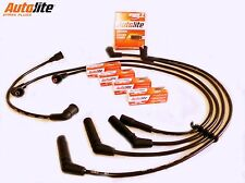 suits TOYOTA HIACE 2.4L 2RZ-FE PETROL, SPARK PLUGS+IGNITION LEADS KIT 1989-2005