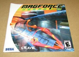 Magforce Racing (Instruction Manual Only) Sega Dreamcast