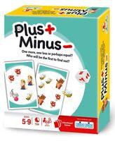 Plus Minus ~ NEW Kids Card Game by KOD KOD and Asmodee