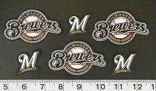 Milwaukee Brewers MLB Team Fabric Iron On Applique Patch NO SEW Shirt Logo Craft
