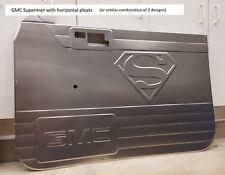 82-93 Chevrolet S10 aluminum door panels, custom bead rolled PREMIUM design