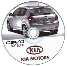 Kia Cee'Dsería (2006-2012) Ceed manual de taller workshop manual