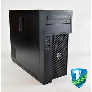 Dell Precision T1650 Xeon E3-1270v2 16GB RAM 256GB SSD Nvidia Graphics Card