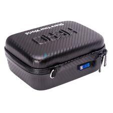 "Carbon Fiber Waterproof Hard EVA Case Box Bag For GoPro Hero 5 4 3+ 3 2  Size 7"""