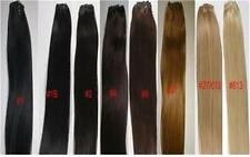 """14"""" Human Hair Extension Weave - Silky Straight Weft, wt: 100g, Width: 65"""""""