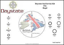 Daystate Regal Full Service SEAL KIT 24 GUARNIZIONI tra cui .177 & .22 SONDA Seals
