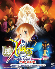 ANIME DVD FATE / ZERO Sea 1~2 Complete Boxset Vol.1-25 End Region All+FREE ANIME