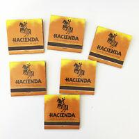 Hacienda Hotel & Casino Las Vegas Matchbook Covers Lot of 6 Vintage