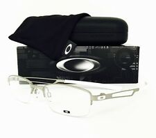 New Oakley Eyeglasses Halftrack 3109-0550 Light W/White 50•18•140 W/Case