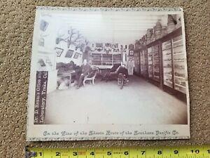 c. 1885 Dr. Ream Yreka California Laboratory Cabinet Photo S. Pacific Railroad