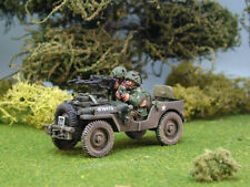 1st Corps 28mm WW2 Helmeted British  Airborne Airlanded twin Vickers recce jeep