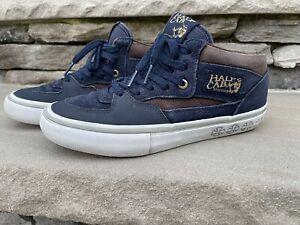 Vans Half CAB PRO Independent Dress Blues Men's Shoes 6.5 Women's 8