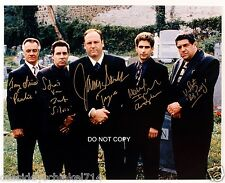 "The Sopranos HBO Drama TV Show Cast Reprint Signed 8x10"" Photo RP"
