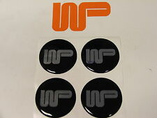 CLASSIC MINI - Wood & Pickett Self Adhesive Logo Badge Set of 4...53mm WPL53 x 4