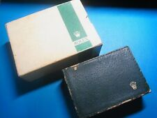 Rare vintage Rolex green stripe box set for Oyster Datejust 1601 (Free Shipping)