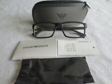 Emporio Armani black glasses frames. EA 3038 5063. With case