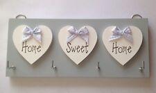 Key Holder Home Sweet Home Grey