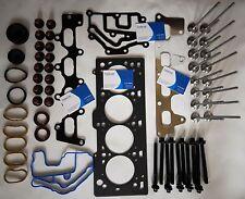 COVER HEAD Kit Guarnizioni Valvole Bulloni Water Pump /& Cintura Kit per motore Renault K4M ventricolare R sincronizzato