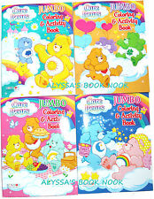 CARE BEARS ~COLORING & ACTIVITY BOOK SET~ 400 PAGES