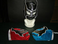 "LOT of 3 SIN CARA ""BLUE* BLACK* RED"" WRESTLING MASKS KIDS niños FREE SHIPPING .."