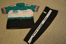 RARE 1990'S JERRY HAAS ABS BRAKE SAFE NHRA PRO STOCK DRIVER'S SHIRT AND PANTS