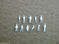 1000pcs Model Trains 1:200 Scale WHITE Figures Z