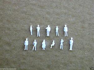 1000pcs Model Trains 1:200 Scale WHITE Figures Z