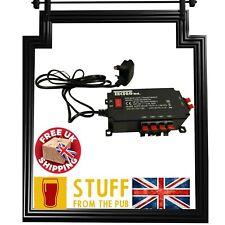 More details for 24v bar light/pump transformer switched/ 6 outlets/bar, man cave, pub shed