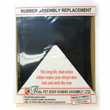 "Pride Pet Doors Rubber Assembly Replacement Pet Door Flap Large (18.5"" Long x."