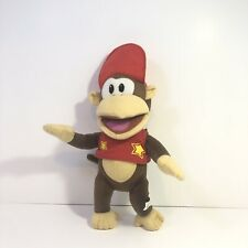 Official Nintendo Super Mario Diddy Kong Soft Plush Toy Monkey - 36cm