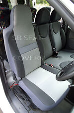 VW TRANSPORTER T4 VAN SEAT COVERS SHEEN GREY - 1 DRIVER'S SEAT COVER ONLY