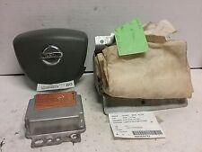 05 06 Nissan Altima airbag set wheel Dash module gray OEM 28556ZB00A