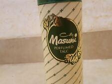 Vintage Coty Masumi Perfumed Talc 100gr Rare sealed new