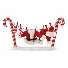 4053596 Possible Dreams Clothtique Santa Accessory Santa's Clothesline NIB