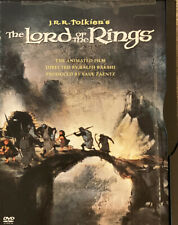 The Lord Of The Rings Animated Movie Dvd Snapcase by Ralph Bakshi, Disc