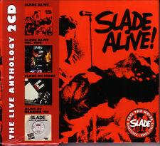 2 CD (NEU!) . SLADE Alive / Alive 2 / On Stage / At Reading '80 (live mkmbh