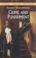 Crime and Punishment (Dover Thrift Editions) by Fyodor Dostoyevsky