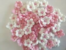 Cake decoration Edible Sugar  Small Petunia flowers  i(50 per set)