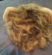 Creative Cute Pet Costume Lion Mane Wig Dog Cat Funny Dress Up size medium