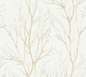 9602-09- 3 Rollen Design Vinyltapete moderne Streifen Tapete schwarz weiß lila
