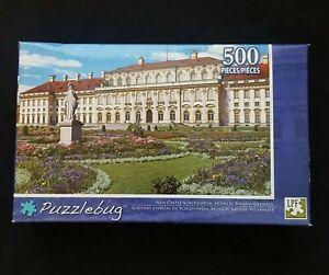 Puzzlebug 500 Piece 18.25x11 New Castle Schleissheim Munich Bavaria Germany